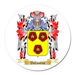 Vallantine Round Car Magnet