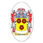 Vallantine Sticker (Oval 50 pk)