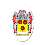 Vallantine 35x21 Oval Wall Decal