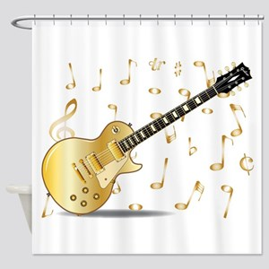 Gold Top Shower Curtain