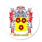 Vallantin Round Car Magnet