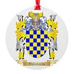 Valladares Round Ornament