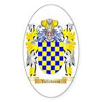 Valladares Sticker (Oval 10 pk)
