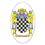 Valladares Sticker (Oval 50 pk)