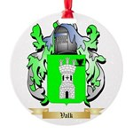 Valk Round Ornament