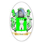 Valk Sticker (Oval)