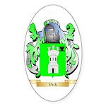Valk Sticker (Oval 50 pk)