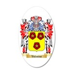 Valintine 35x21 Oval Wall Decal