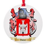 Valier Round Ornament