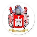 Valier Round Car Magnet