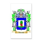 Valiente Rectangle Car Magnet