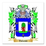 Valiente Square Car Magnet 3