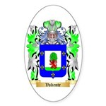 Valiente Sticker (Oval 50 pk)