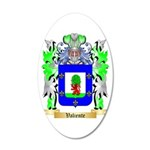 Valiente 20x12 Oval Wall Decal