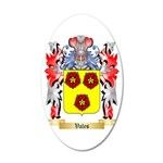 Vales 35x21 Oval Wall Decal