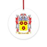 Vales Round Ornament