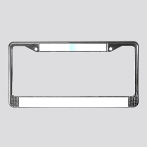 Carbonated Water License Plate Frame