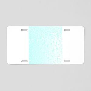 Carbonated Water Aluminum License Plate