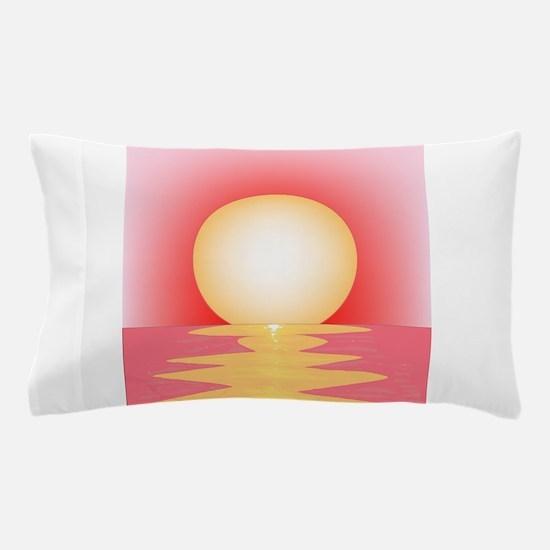 Pink SUnset Pillow Case