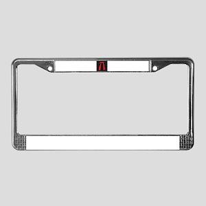Pi Sphere License Plate Frame