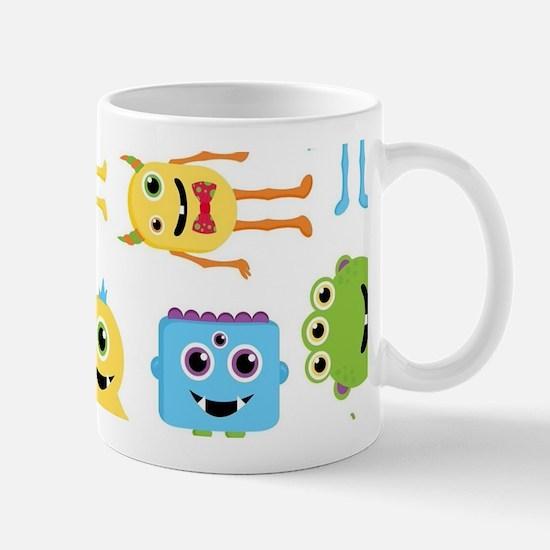 Little Monster Pattern Mug