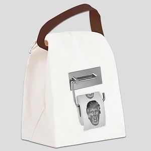 Trump TP Design Canvas Lunch Bag