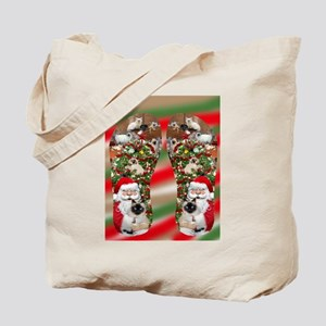 Ragdoll Cats Enjoying Christmas Tote Bag