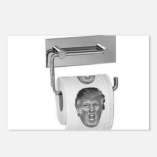 Trump TP Design Postcards (Package of 8)