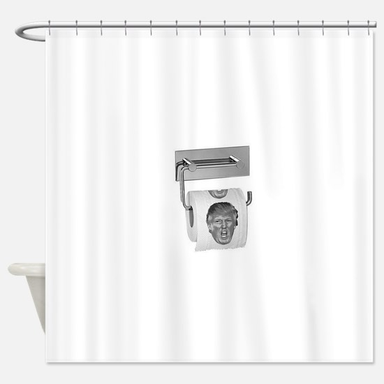 Trump TP Design Shower Curtain