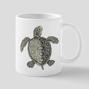 Retro pirates turtle design Mugs