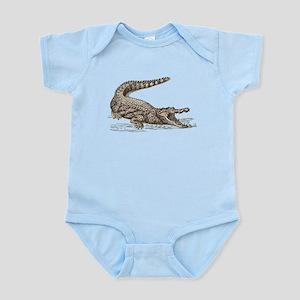 Hand painted animal crocodile Body Suit