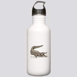 Hand painted animal cr Stainless Water Bottle 1.0L