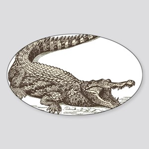 Hand painted animal crocodile Sticker