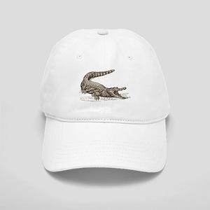 Hand painted animal crocodile Cap