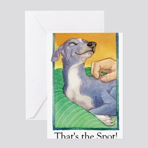 At the End of My Rope (with copy) Greeting Cards