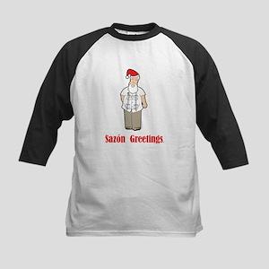 Cuban Santa Kids Baseball Jersey