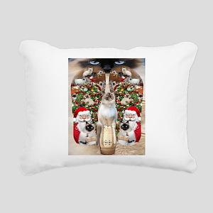 Ragdoll Cats for Christmas Rectangular Canvas Pill