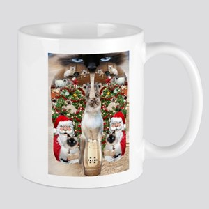Ragdoll Cats for Christmas Mugs