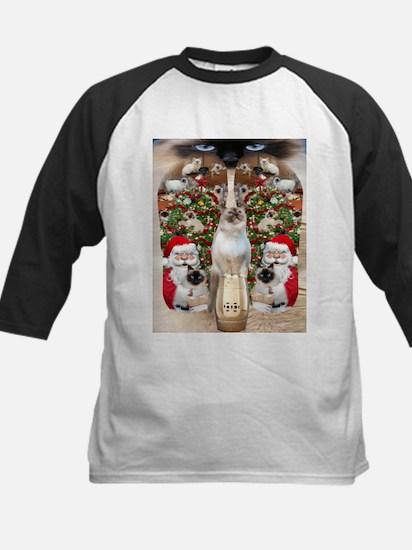Ragdoll Cats for Christmas Baseball Jersey