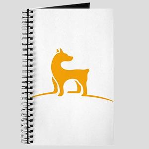 Simple dog logo design Journal