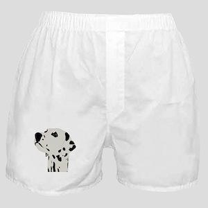 Pes Dalmatian art Boxer Shorts