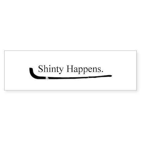 Shinty Bumper Sticker