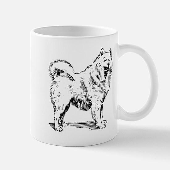 Samoyed dog Mugs