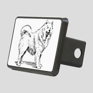 Samoyed dog Rectangular Hitch Cover
