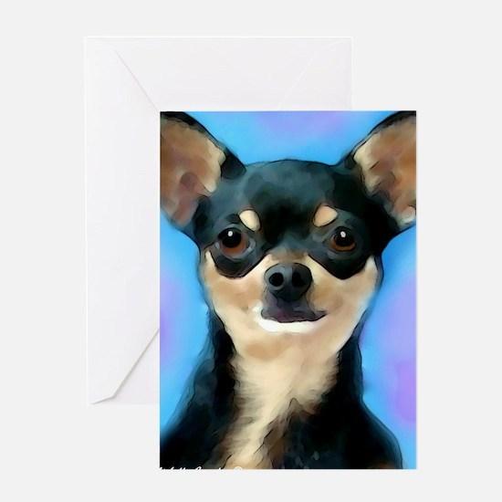 Cool Chihuahua Greeting Card