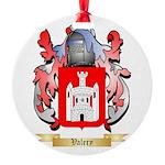 Valery Round Ornament