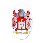 Valery Oval Car Magnet