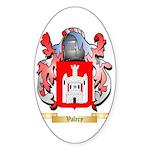 Valery Sticker (Oval)