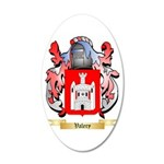 Valery 20x12 Oval Wall Decal
