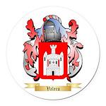 Valero Round Car Magnet